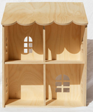 Pretty In Pine Wooden Wall Doll House