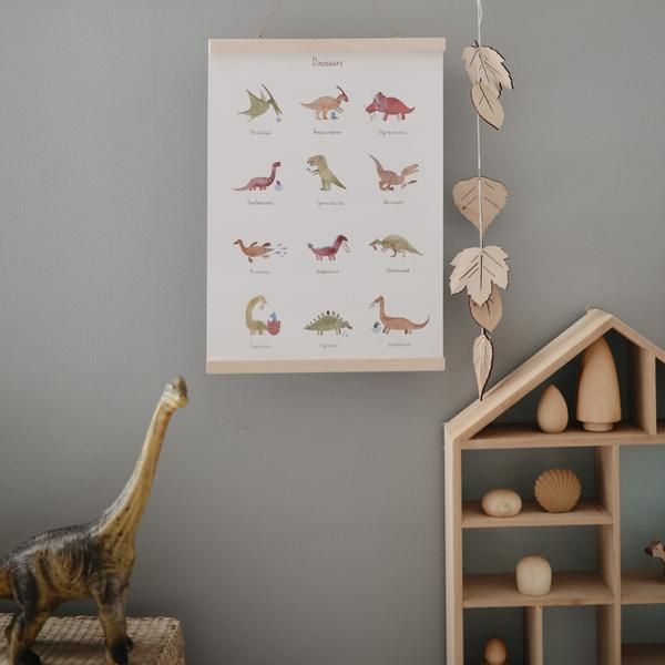 Mushie Dinosaur Poster Medium