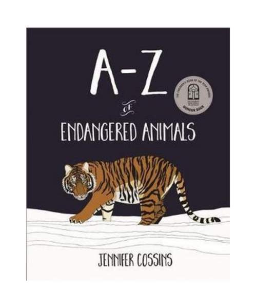 A-Z of Endangered Animals Book by Jennifer Cossins