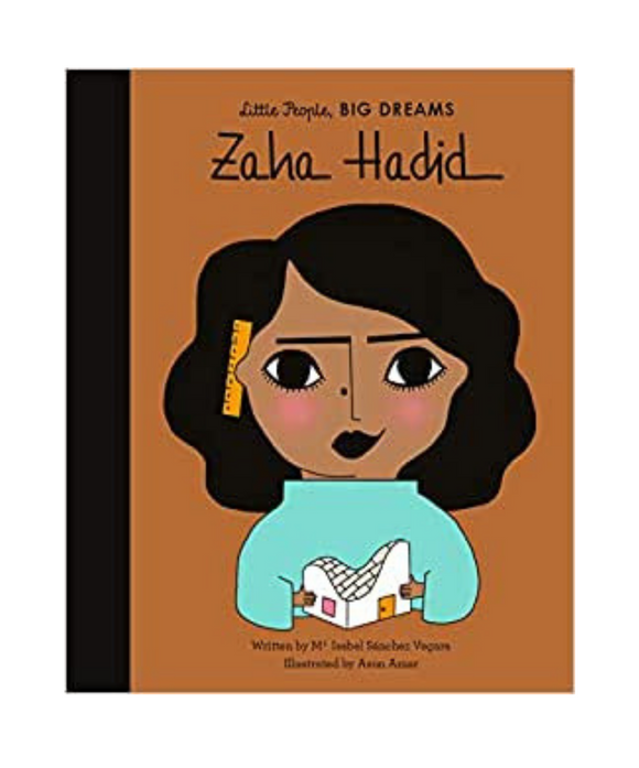 Little People Big Dreams Book - Zaha Hadid
