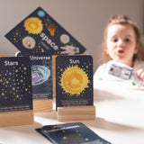 Two Little Ducklings Flash Cards Space