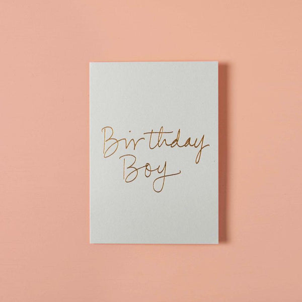 Birthday Gift Card - Birthday Boy