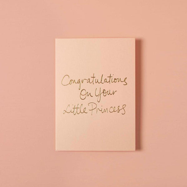Baby Gift Card - Congratulations On Your Little Princess