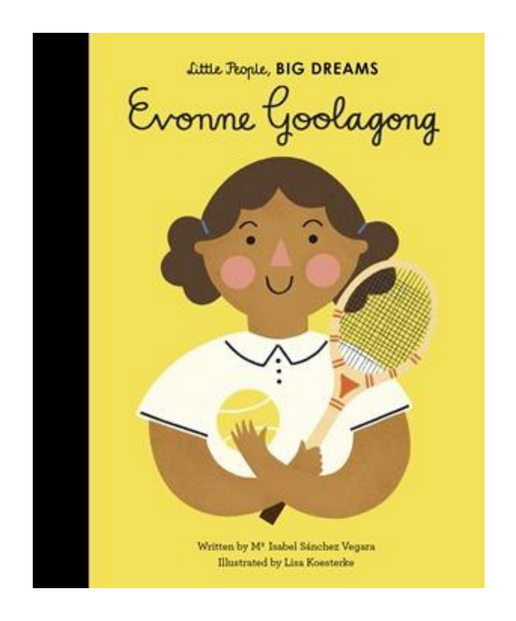 Little People Big Dreams Book - Evonne Goolagong