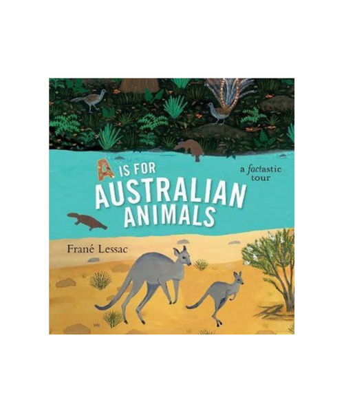 A Is For Australian Animals Book by Frane Lessac