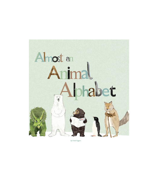 Almost An Animal Alphabet Book by Katie Viggers