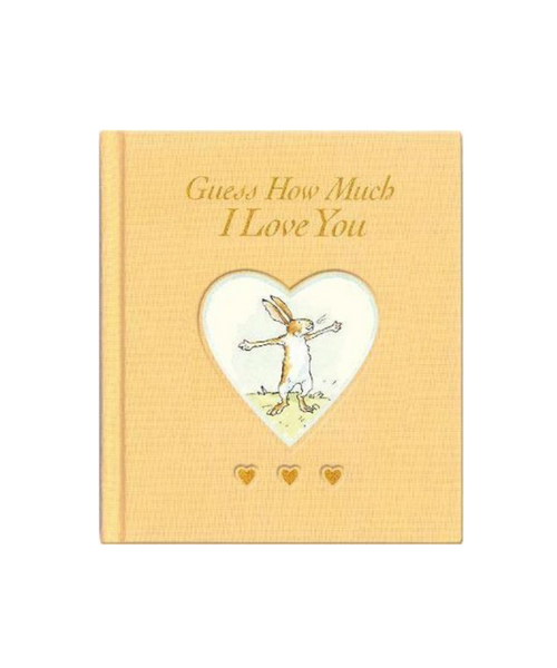 Guess How Much I Love You Golden Sweetheart Book by Sam McBratney