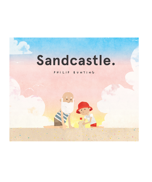 Sandcastle Book by Philip Bunting
