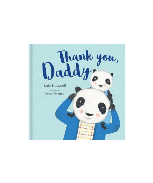 Thank You Daddy Book by Kate Bucknell