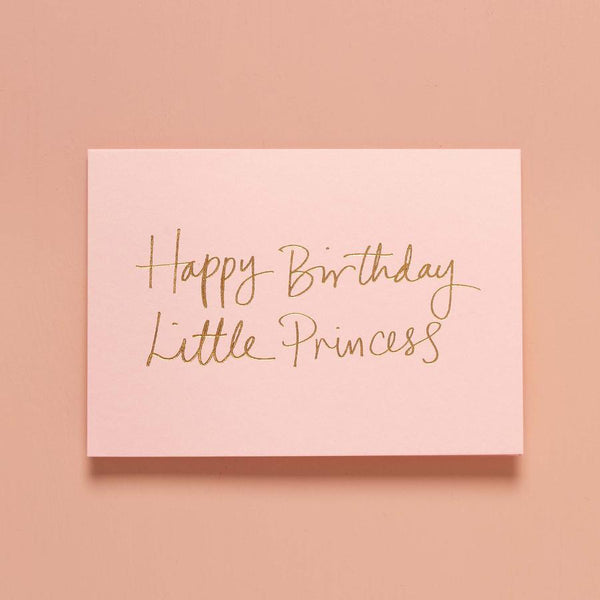 Birthday Gift Card - Happy Birthday Little Princess