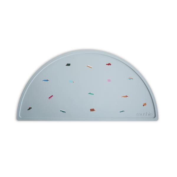 Mushie Silicone Place Mat Retro Cars