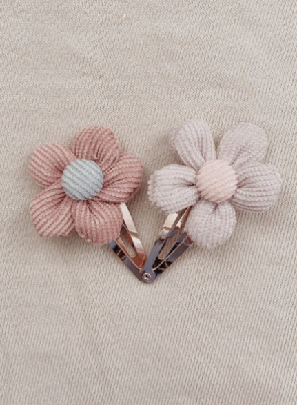 Mae and Rae Floral Clip Set Lola