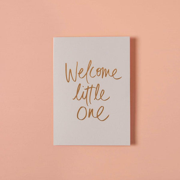 Baby Gift Card - Welcome Little One