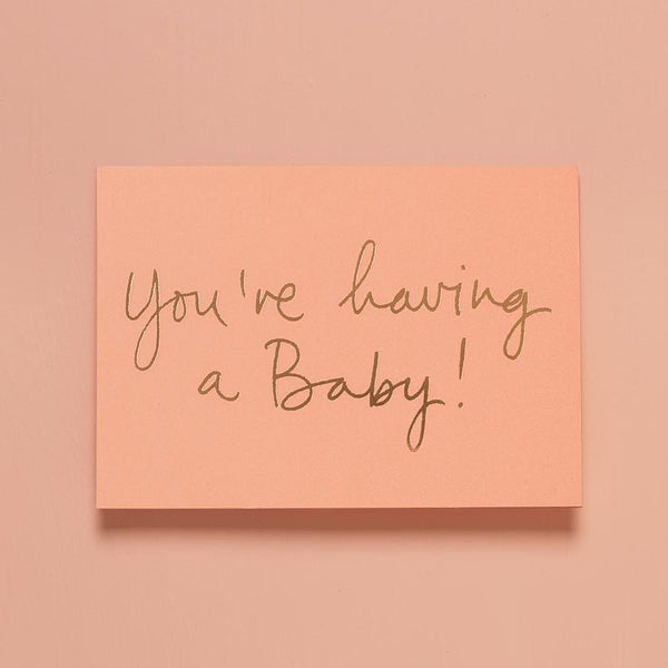 Baby Gift Card - You're Having A Baby!