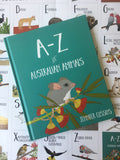 A-Z of Australian Animals Book by Jennifer Cossins