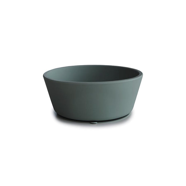 Mushie Suction Silicone Bowl Dried Thyme