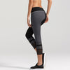 Vesta Capri Leggings in black with grey by BODYLAP US