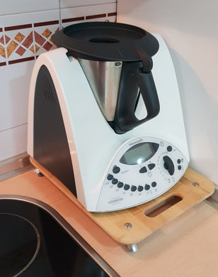 Tabla Desplazar Thermomix Bambu 30x37 20mm Alto