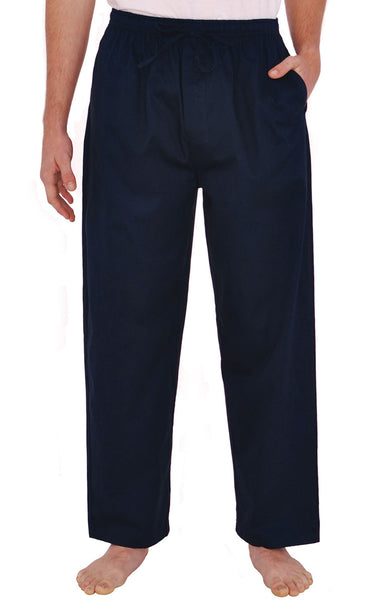 Mens Woven Cotton Sleep And Lounge Pants
