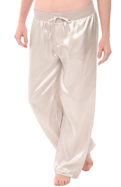 Womens Satin Sleep And Lounge Pants