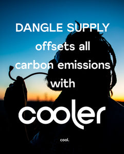 Dangle Supply Offsets Carbon Footprint, Partnering with Cooler!