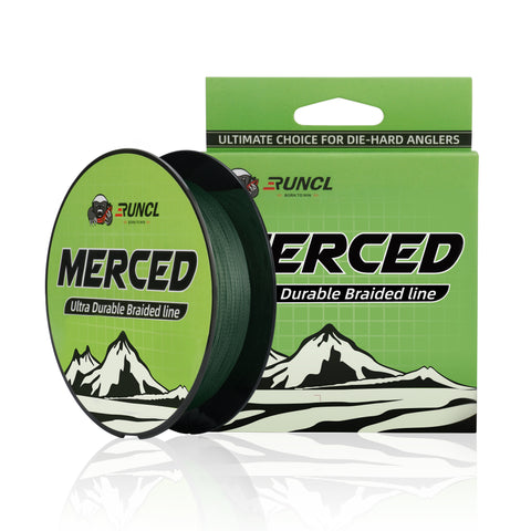 RUNCL Merced Braided Fishing Line (300Yds)