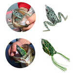RUNCL Anchor Box - Topwater Frog Lures Kit (5 different frog lures)