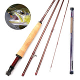 RUNCL Fly Fishing Rod & Reel Combo Seagull I (9', 5#)