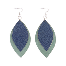 Load image into Gallery viewer, Fall '20 Signature 2 Leaf Earrings