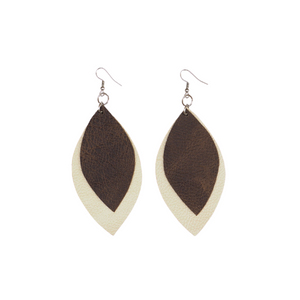 Fall '20 Signature 2 Leaf Earrings