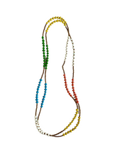 Load image into Gallery viewer, Wrap Beaded Necklace