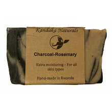 Load image into Gallery viewer, Charcoal Rosemary Soap