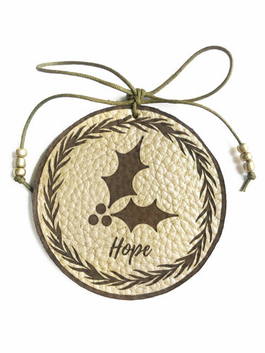 Holly Hope Ornament