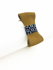 Leather Bow Bracelet