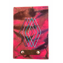 Load image into Gallery viewer, Pink Tie Dye Mini Journal
