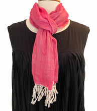 Load image into Gallery viewer, Pink Peace House Scarf