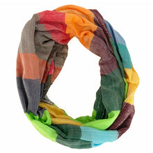 Load image into Gallery viewer, Multicolor Peace House Scarf