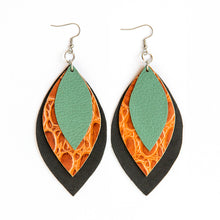 Load image into Gallery viewer, Spring Signature 3 Leaf Earrings
