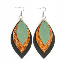 Load image into Gallery viewer, Signature 3 Leaf Earrings