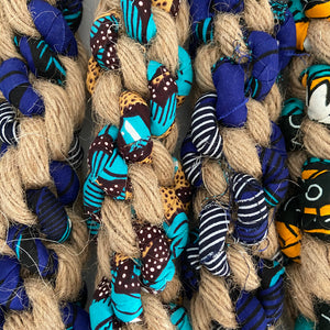 Small Kitenge Dog Toys