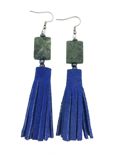 Spring '19 Stone Tassel Earrings