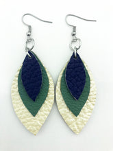 Load image into Gallery viewer, Spring '19 Mini Three Leaf Earrings