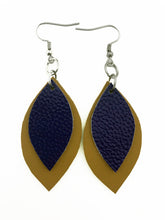 Load image into Gallery viewer, Spring '19 Mini Two Leaf Earrings