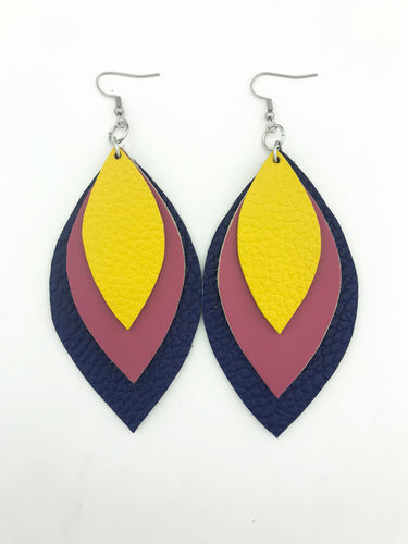 Spring '19 Signature Three Leaf Earrings