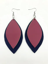 Load image into Gallery viewer, Signature 2 Leaf Earrings