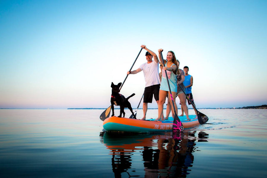 THE REALLY USEFUL GUIDE TO BUYING A PADDLE BOARD