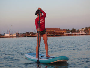 Red Snapper SUP, UK Paddle Boarding, examing the fitness benefits of SUPing