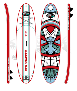 The new Red Snapper SUP - The Duke Board. Uk paddle boards based in Brighton, Sussex