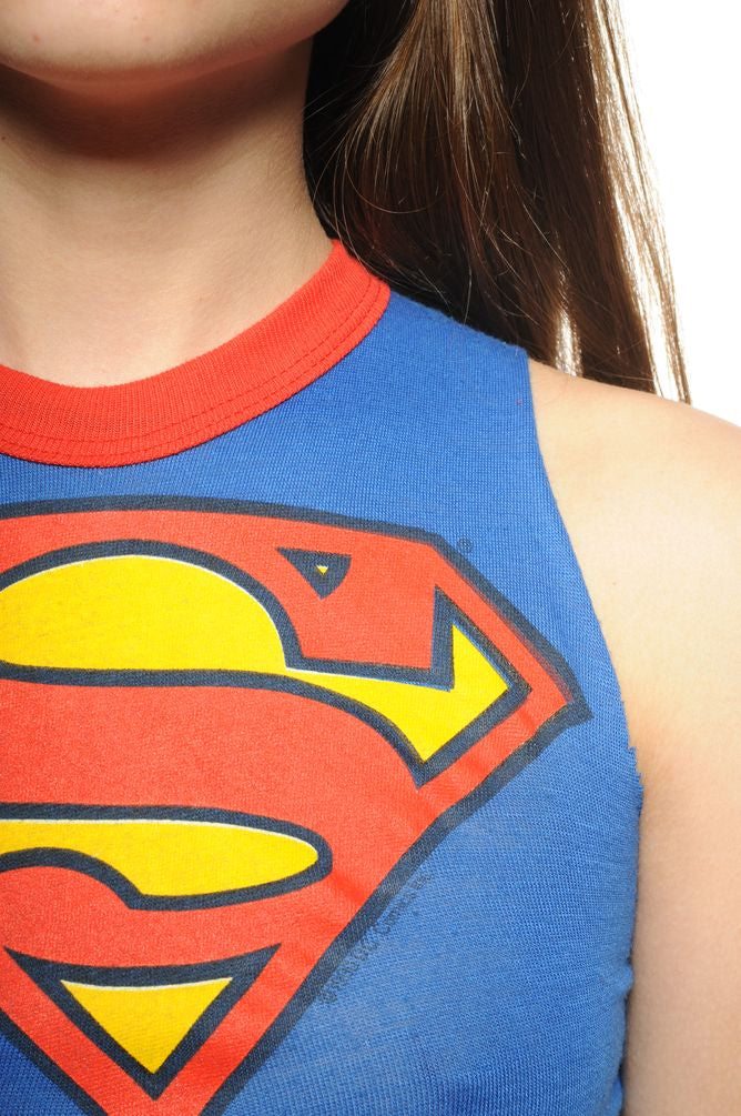 Superman Cropped Tank