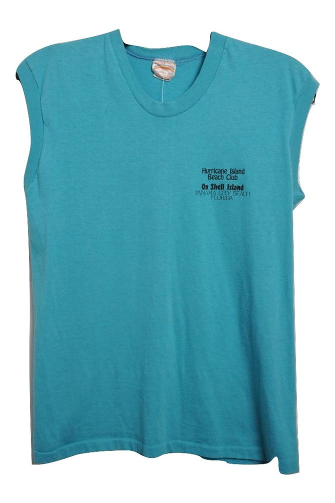 Hurricane Island Beach Club Muscle Tee
